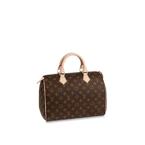 speedy  monogram canvas handbags louis vuitton