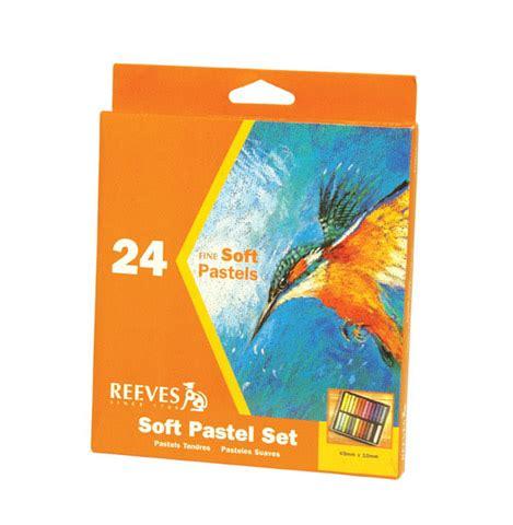 Reeves Soft Pastels 24 Pcs Berkualitas reeves soft pastel set of 24