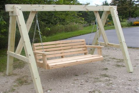 backyard swing plans free plans for outdoor wood furniture friendly