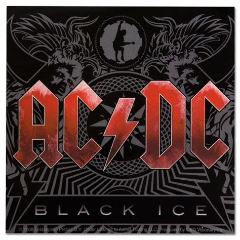 ac dc album by album books ac dc black album sticker musictoday superstore