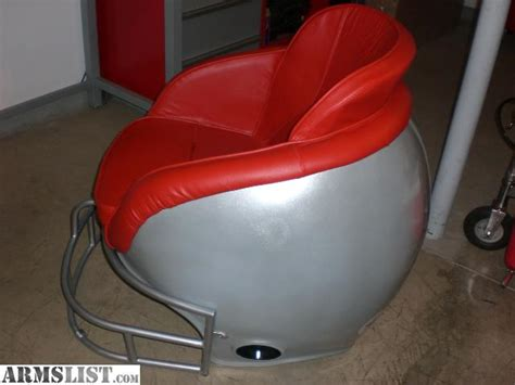 armslist for sale ohio state football helmet chair