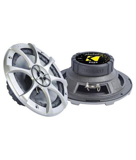 Kicker Es 65 2 kicker es65 6 5 inch coaxial speaker system buy