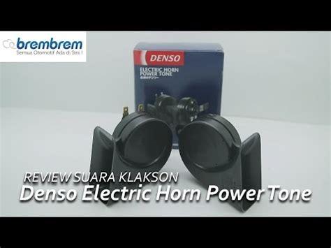 Bosch Klakson Horn denso horn mp4 doovi