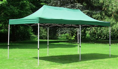 Shade Gazebo Standard 3m X 6m Foldable Pop Up Gazebo Green 163 189 99