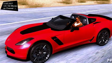 future corvette stingray chevrolet corvette stingray z06 new enb top speed test gta