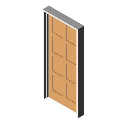 Karona Door by Door K5810 Square Karona 3d Model Formfonts 3d Models