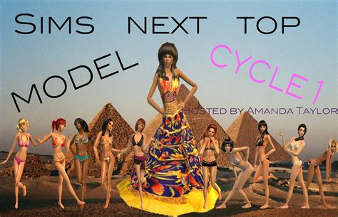 The Sims Next Top Model Week One by The Sims Wiki User Created Contests Total Drama Combess S