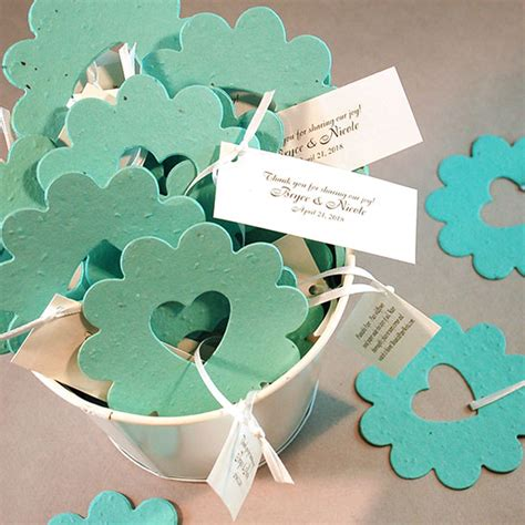 Wedding Favors Flower Seeds by Of Plantable Wedding Favor 50