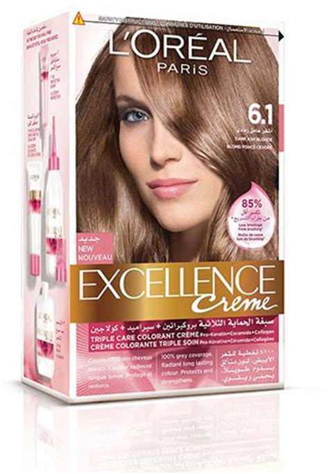 l oreal excellence creme 6 3 light golden brown ebay souq ramadan 2018 l oreal excellence creme 6 1 ash ksa