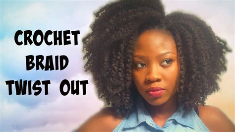 afro twistout pics tutorial crochet braid and twist out afro kinky hair