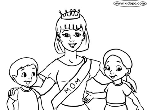 coloring pages with mom mom coloring pages best mom coloring page pages to