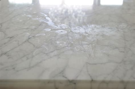 Stains On Marble Countertop by Living With Marble Countertops A Cautionary Tale