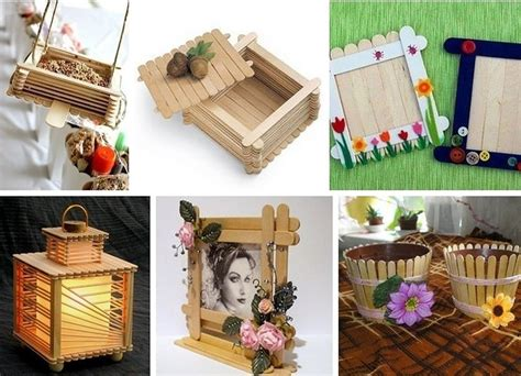 Handmade Things With Sticks - things made of materials diy is