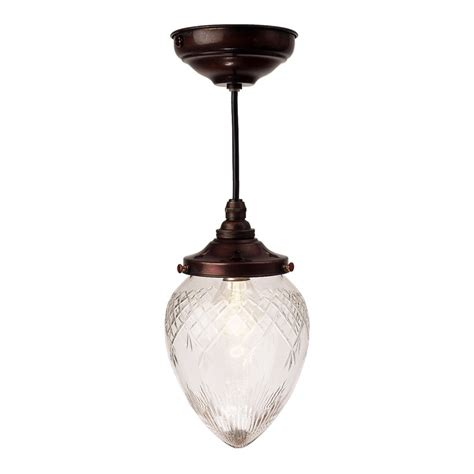 Edwardian Bathroom Lighting Small Or Edwardian Entrance Light With Cut Glass Shade