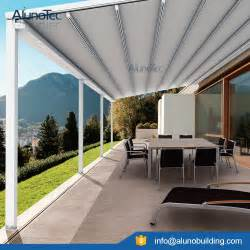 buy wholesale retractable aluminum awnings from