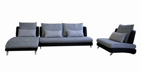Leather And Fabric Sectional With Chaise Accessorizeyourspace 3 Leather Fabric Sectional