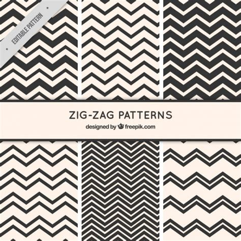 zigzag pattern vector free download zig zag pattern collection vector premium download