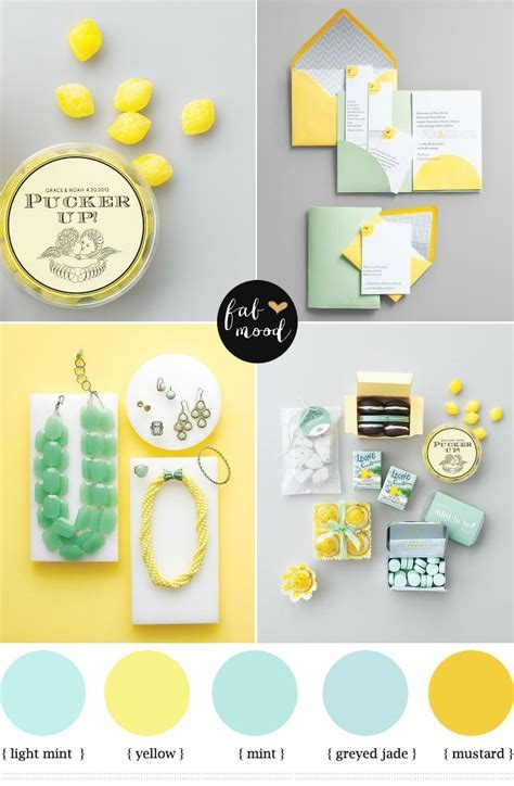 Mint and yellow wedding Colours,mint green and yellow