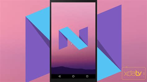 android xda android n preview look