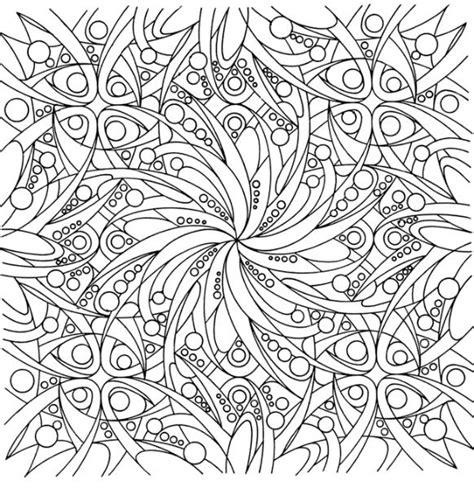abstract coloring pages difficult freefree coloring pages