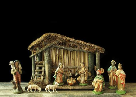 italian nativity creches reserved nativity set italy vintage creche wooden manger