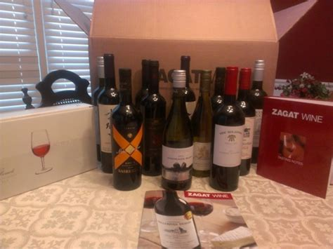 zagat wine club review with