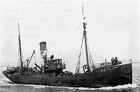 boat transport lowestoft granton steam trawler daily chronicle operated byt l