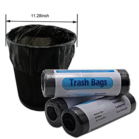 bathroom trash bags strong durable kitchen garbage bags home bathroom office