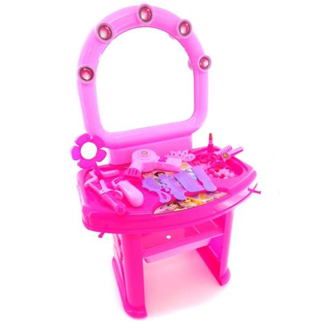 Dresser Playset 80852c Meja Rias Make Up Mainan Anak disney princess make up table set happy toko mainan jual mainan anak