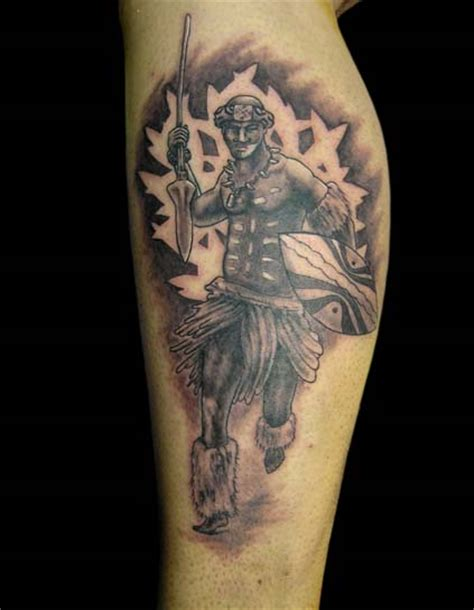 zulu tattoo pictures zulu warrior by primitive art on deviantart
