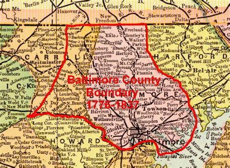 maryland map county boundaries baltimore county of maryland baltimore county