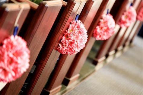pew decorations. Half kissing ball   wedding ideas