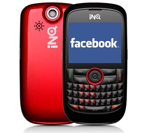 mobile comfacebook phone being made by inq