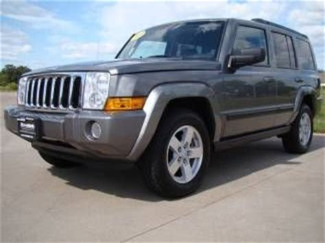 08 Jeep Commander Sell Used 08 Jeep Commander Sport 4x4 Newer Tires Third