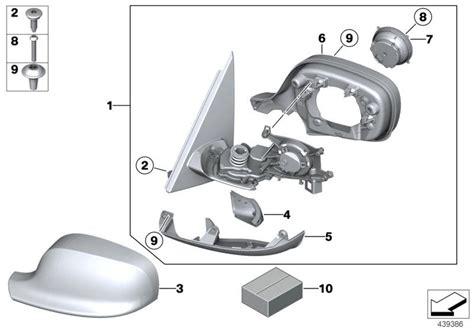 Bmw Motorrad Ersatzteile Spiegel by 51167238047 Abdeckkappe Aussenspiegel Grundiert Li Bmw