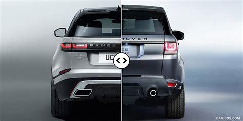 range rover velar vs sport range rover velar vs sport