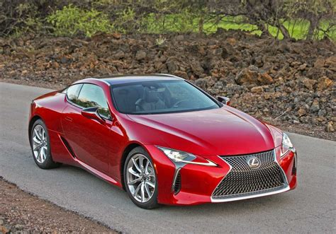 Visually The Lexus Lc 500 And Lexus Lc 500h Share The