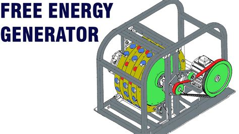 free energy generator mike brady permanent magnet