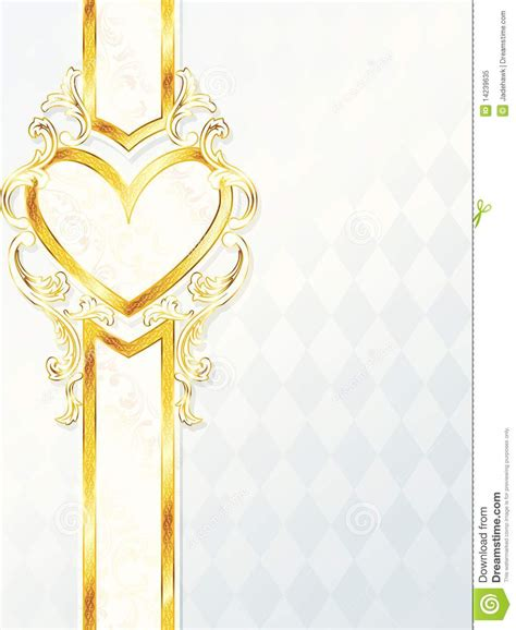 wedding banner pictures vertical rococo wedding banner with emblem royalty
