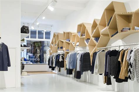 Display Work Apparel On Showroom Floors - cool and projects made out of cardboard