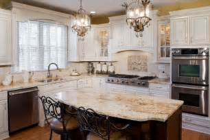 Kitchens With Antique White Cabinets Tuscan Antique White Kitchen Cabinets Jennair Appliances