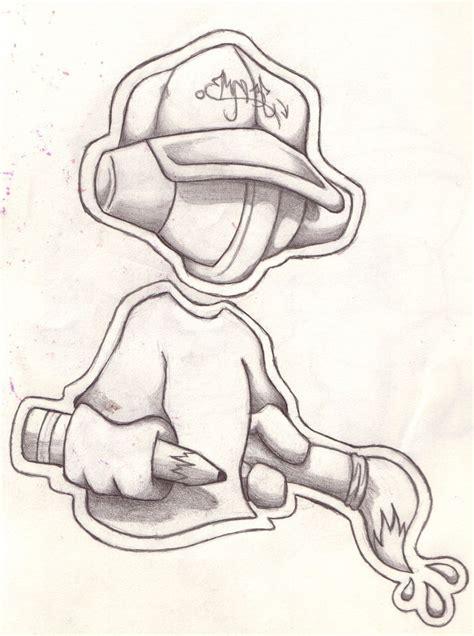 cool easy graffiti character drawings graffiti street