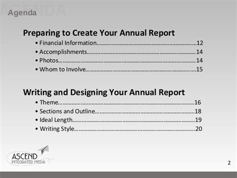 Nonprofit Annual Report Letter President How To Write An Effective Nonprofit Annual Report