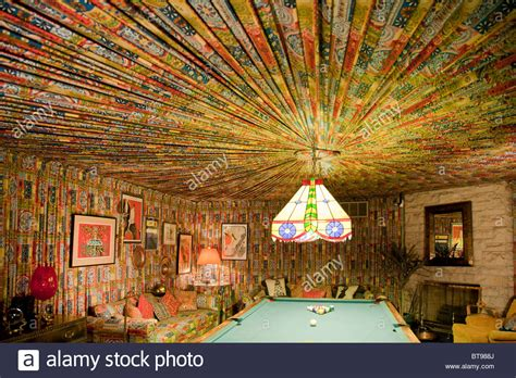 graceland pool room elvis s fabric lined pool room at graceland stock photo royalty free image