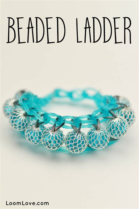 how to make a ladder bracelet with how to make a rainbow loom beaded ladder bracelet