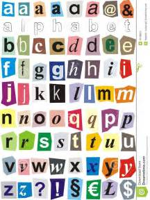 cut out letters classroom