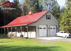 Auto Barn Llc Residential Polebarn Building Madisonville Tam Lapp