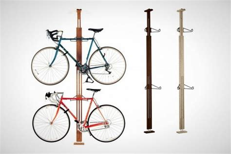 How To Hang Bicycles From The Ceiling by 15 Creative Ways To Hang Up Your Bike Brit Co