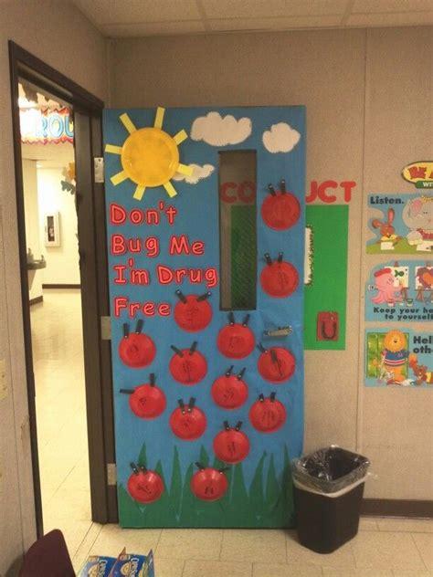 Free Ideas Door Decorating by Quot Say No To Drugs Quot Door Decoration From Kindergarten