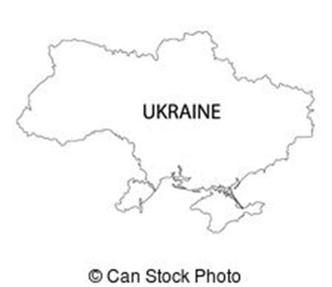 Ukraine Outline Map by Ukraine Outline Vector Clipart Royalty Free 409 Ukraine Outline Clip Vector Eps